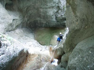descente canyon isère