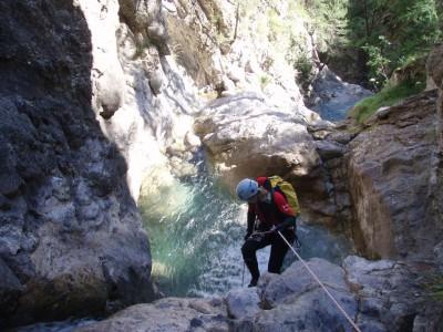 Canyon de Tramouillon (inférieur)
