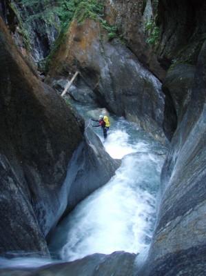 Gorges du Triège (Canyon des Marécottes)