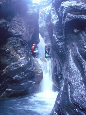 Canyon de la Tine des Fonts (aval)