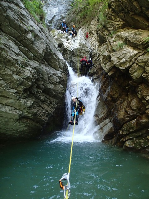 Canyon des Ecouges (partie basse)