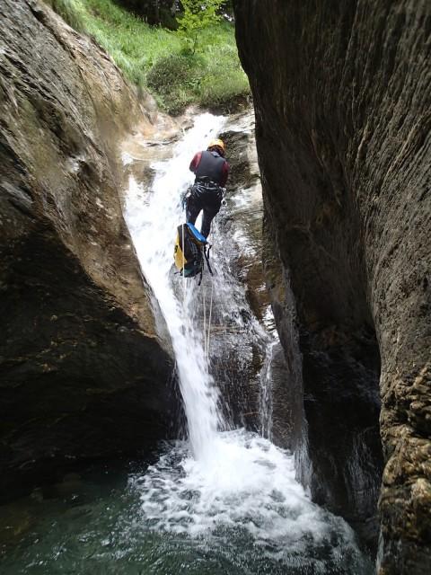 Barranco de Jordan y cañon de Arrako