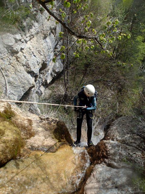 Cascade des gorges d'Agnielles