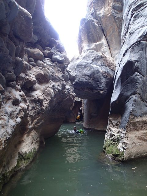 "Wadi Bani Awf (""Big Snake canyon"")"