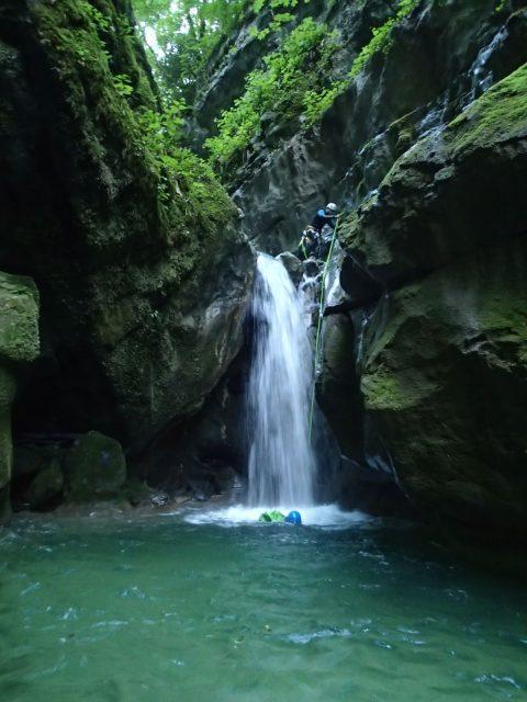 Canyon du Furon (partie haute)