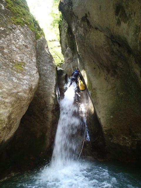 Ruisseau de Berrièves (Canyon des « Moules Marinières »)