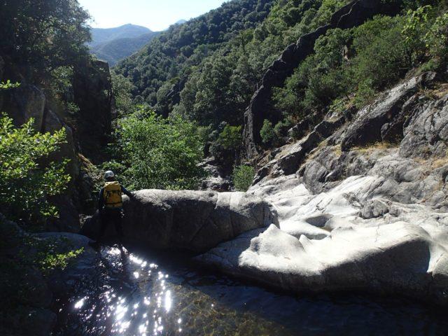 Valat de l'Homme Mort (Canyon des Tines)