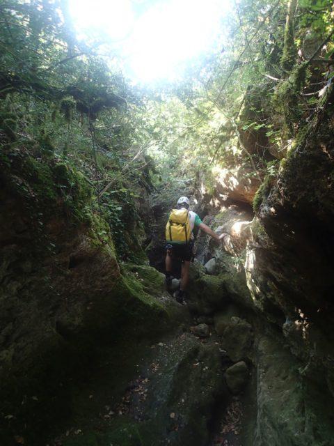Canyon de Verrières (Ruisseau des Pincelles)