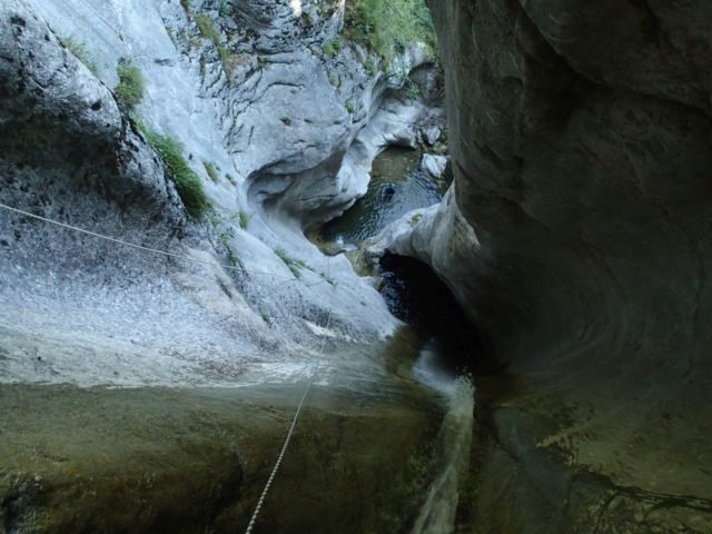 Canyon de l'Eau Froide