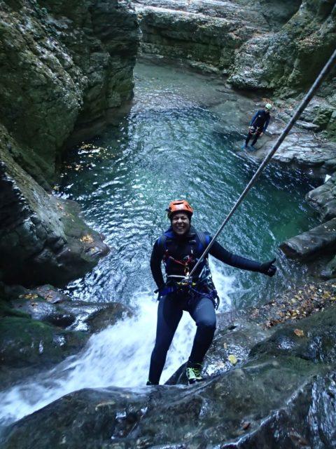 Canyon du Furon (partie basse)