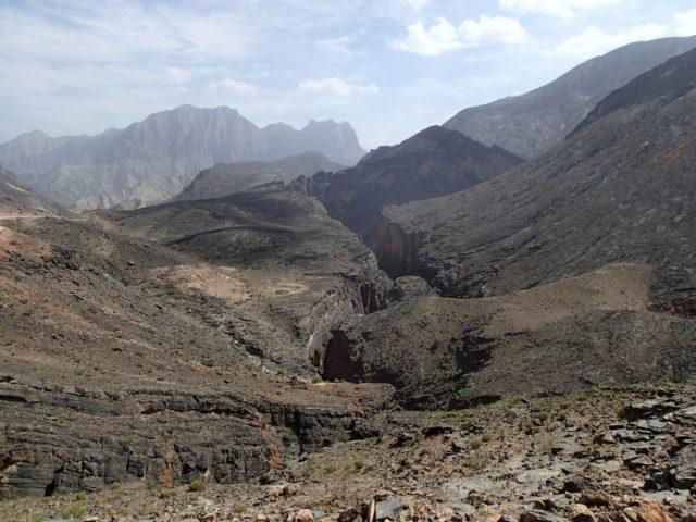 "Wadi Bani Awf (""Big Snake Canyon"")"