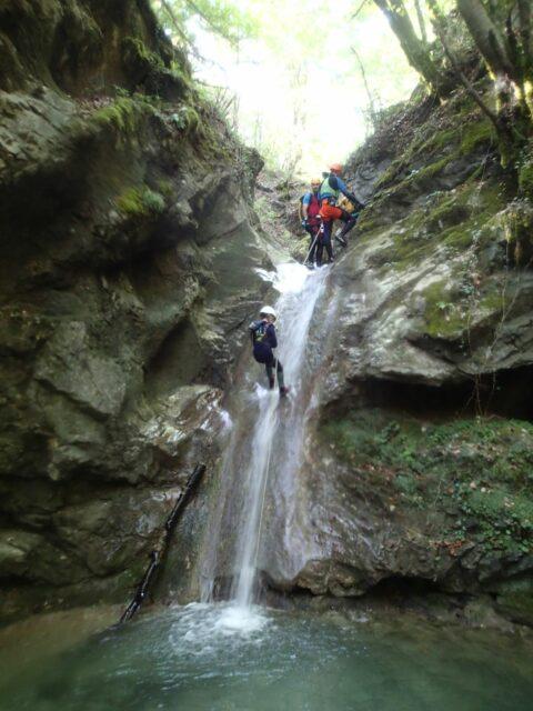 Canyon de la Pissarde (partie amont)