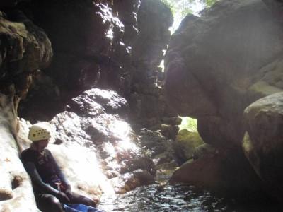 Canyon de la Leysse