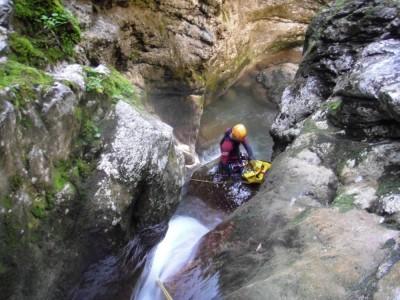 Canyon du Reposoir