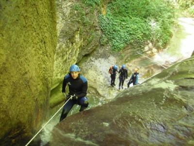 Canyon du Rhéby