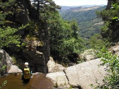 Canyon de Rochebonne (Ruisseau du Dévés)
