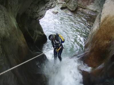Canyon de la Pissarde (amont)